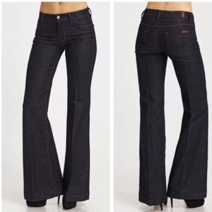 7 for All Mankind Ginger Wide Leg Flare Jeans